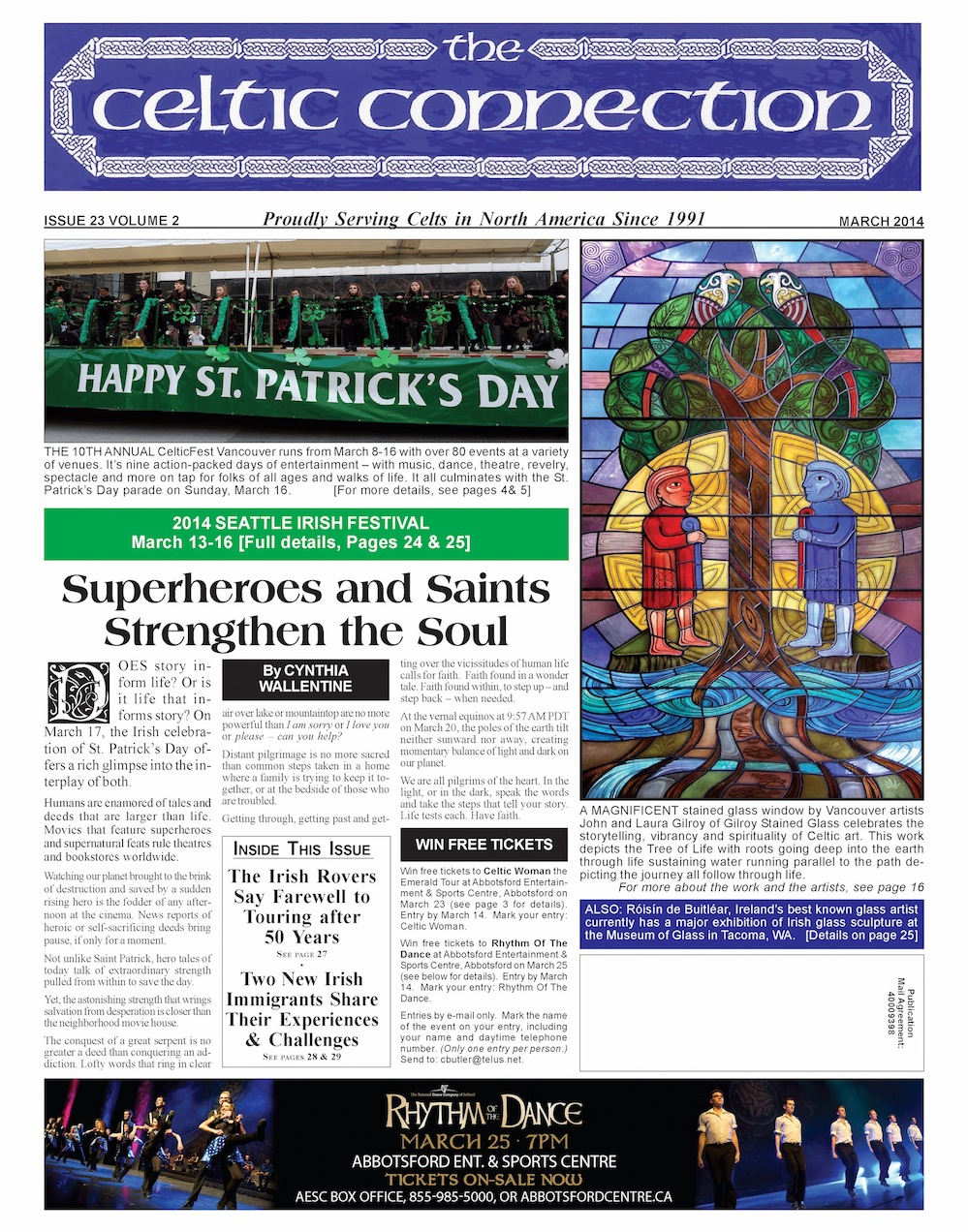 Celtic Connection March 2014 front page copy