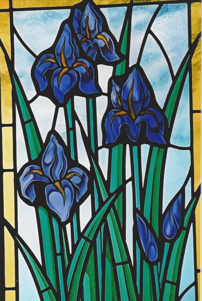 Spring Flowers Gilroy Stained Glass Ltd Vancouver Bc Canada
