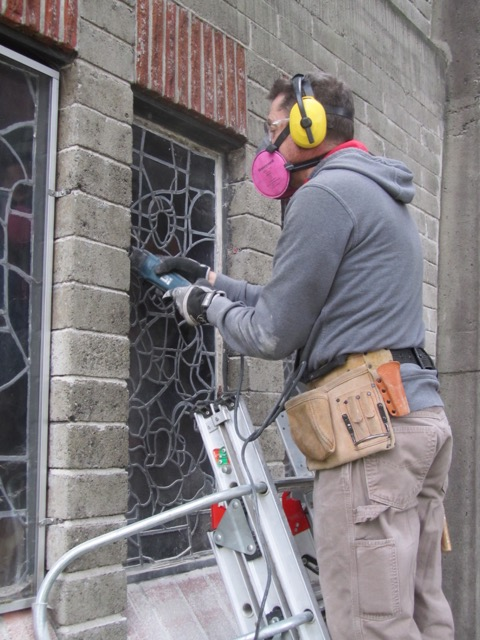 St John's Shaughnessy, window removal