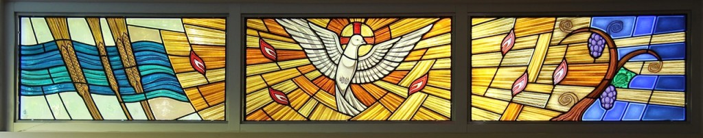 Holy Spirit window © Gilroy Stained Glass