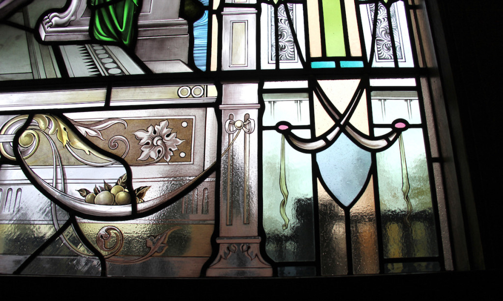Shaughnessy Restoration, detail ©Gilroy Stained Glass